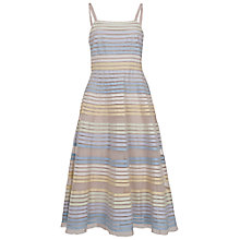 Buy French Connection Delilah Ribbons Midi Dress, Multi Online at johnlewis.com