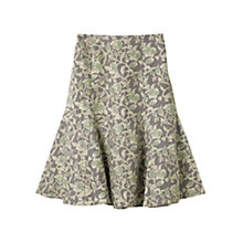 Buy East Victoire Rosetti Skirt, Slate Online at johnlewis.com