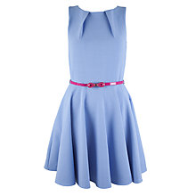 Buy Closet Bloomsbury Skater Dress, Pale Blue Online at johnlewis.com