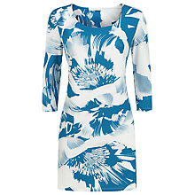 Buy Planet Floral Tunic Top, Multi Blue Online at johnlewis.com