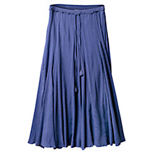 Buy East Crinkle Cotton Skirt, Wisteria Online at johnlewis.com