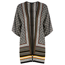 Buy Warehouse Arizona Side Split Jacket, Multi Black Online at johnlewis.com