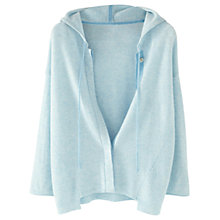 Buy Wrap London Bryony Cashmere Hoody, Seaspray Online at johnlewis.com