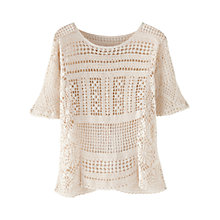 Buy Wrap London Ingrid Linen Jumper Online at johnlewis.com