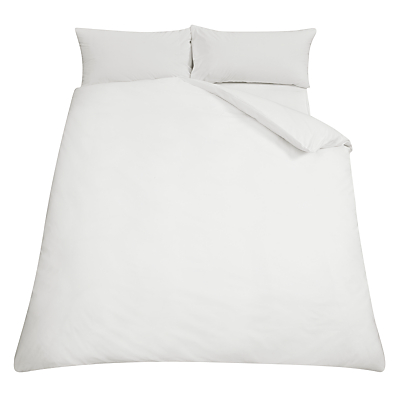 John Lewis 200 Thread Count Egyptian Cotton Duvet Cover, White