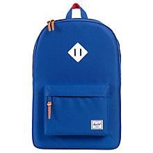 Buy Herschel Supply Co. Heritage Backpack, Blue Online at johnlewis.com