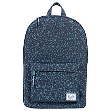 Buy Herschel Supply Co. Classic Backpack, Composition Blue Online at johnlewis.com