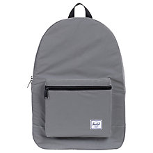 Buy Herschel Supply Co. Packable Daypack, Silver Reflective Online at johnlewis.com