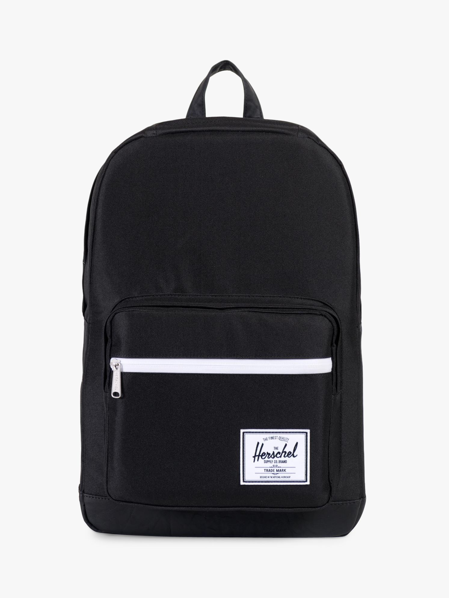 Herschel Supply Co. Herschel Supply Co. Pop Quiz Backpack, Black/Tan Synthetic Leather