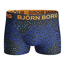 Buy Bjorn Borg Animal Madness Trunks, Peacoat Blue Online at johnlewis.com