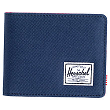 Buy Herschel Supply Co. Roy Wallet, Navy/Red Online at johnlewis.com