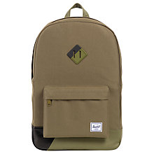 Buy Herschel Supply Co. Heritage Stripe Backpack Online at johnlewis.com