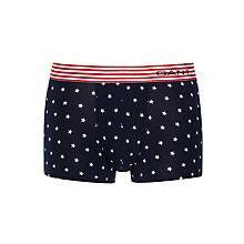 Buy Gant Star Print Trunks, Navy Online at johnlewis.com