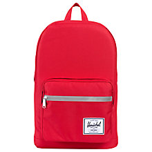 Buy Herschel Supply Co. Pop Quiz Backpack, Red Online at johnlewis.com