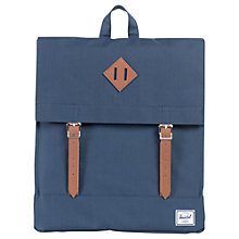 Buy Herschel Supply Co. Survey Backpack, Navy/Tan Online at johnlewis.com