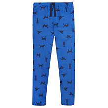 Buy Joules Selwyn Dog Print Pyjama Bottoms, Blue Online at johnlewis.com