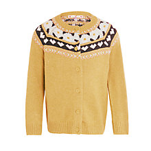 Buy John Lewis Girls' Fair Isle Cardigan Online at johnlewis.com