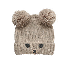 Buy John Lewis Novelty Bear Hat, Brown Online at johnlewis.com