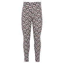 Buy John Lewis Girl Geometric Print Leggings, Multi Online at johnlewis.com