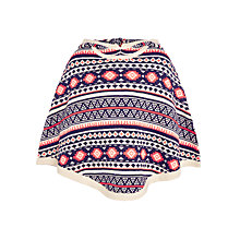 Buy John Lewis Girl Fairisle Poncho, Multi Online at johnlewis.com