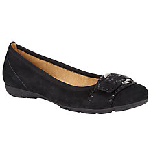 Buy Gabor Millie Nubuck Buckle Pumps Online at johnlewis.com