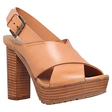 Buy KG by Kurt Geiger Mercury Block Heeled Platform Sandals Online at johnlewis.com