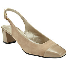 Buy John Lewis Casa Slingback Block Heel Court Shoes Online at johnlewis.com