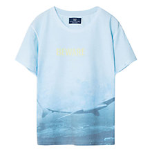 Buy Mango Kids Boys' Shark T-Shirt Online at johnlewis.com