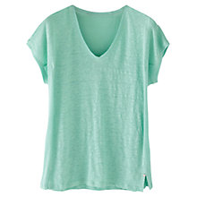 Buy Wrap London Tessa Linen T-Shirt Online at johnlewis.com