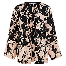 Buy Coast Triste Kimono, Black Online at johnlewis.com