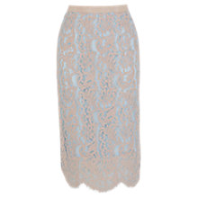 Buy Coast Silvy Skirt, Blush Online at johnlewis.com