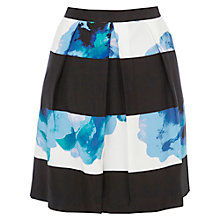 Buy Coast Petite Sezel Skirt, Black/Multi Online at johnlewis.com