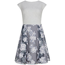 Buy Ted Baker Burn Out Overlay Dress, Dovetail Online at johnlewis.com