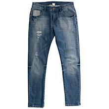 Buy Wrap London Robyn Boyfriend Jeans, Mid Blue Denim Online at johnlewis.com