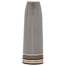 Buy Warehouse Arizona Jogger Maxi Skirt, Multi Online at johnlewis.com