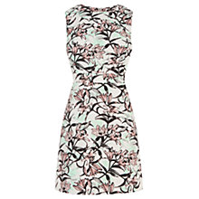 Buy Warehouse Iris Print Shift Dress, Multi Online at johnlewis.com