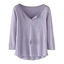 Buy Wrap London Kimberley Linen T-Shirt Online at johnlewis.com