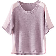 Buy Poetry Linen Detail Jumper Online at johnlewis.com