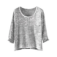Buy Poetry Printed Stripe Jumper Online at johnlewis.com