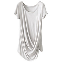 Buy Poetry Drape Detail T-Shirt Online at johnlewis.com