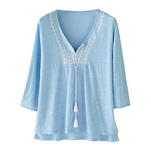 Buy Wrap London Tanya Linen Top Online at johnlewis.com