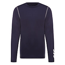 Buy St John's International School Unisex Baselayer, Navy Online at johnlewis.com