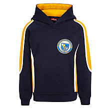 Buy St John's International School Unisex Hoodie, Navy Blue/Yellow Online at johnlewis.com