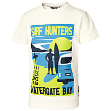 Buy Fat Face Boys' Surf Hunters T-Shirt, Neutral Online at johnlewis.com