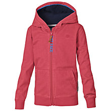 Buy Fat Face Boys' Diving List Zip Thru Hoodie, Red Online at johnlewis.com