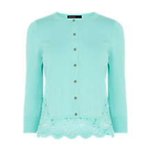 Buy Karen Millen Delicate Lace Back Cardigan Online at johnlewis.com