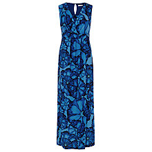 Buy Kaliko Printed Maxi Dress, Blue Online at johnlewis.com