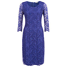 Buy Kaliko Lace Beaded Dress, Starry Night Online at johnlewis.com
