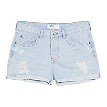 Buy Mango Denim Cotton Shorts Online at johnlewis.com