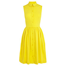 Buy Karen Millen Colourful Shirt Dress, Yellow Online at johnlewis.com